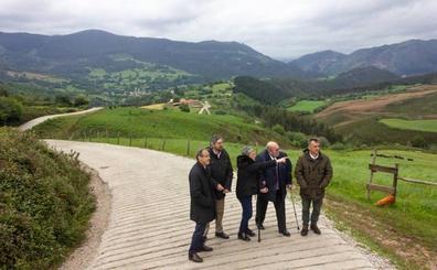 Medio Rural cierra el mandato con la mejora de varias pistas forestales en Los Corrales