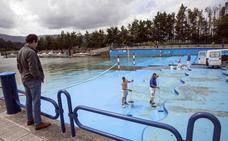 Lavado de cara a la playa artificial de Punta Parayas