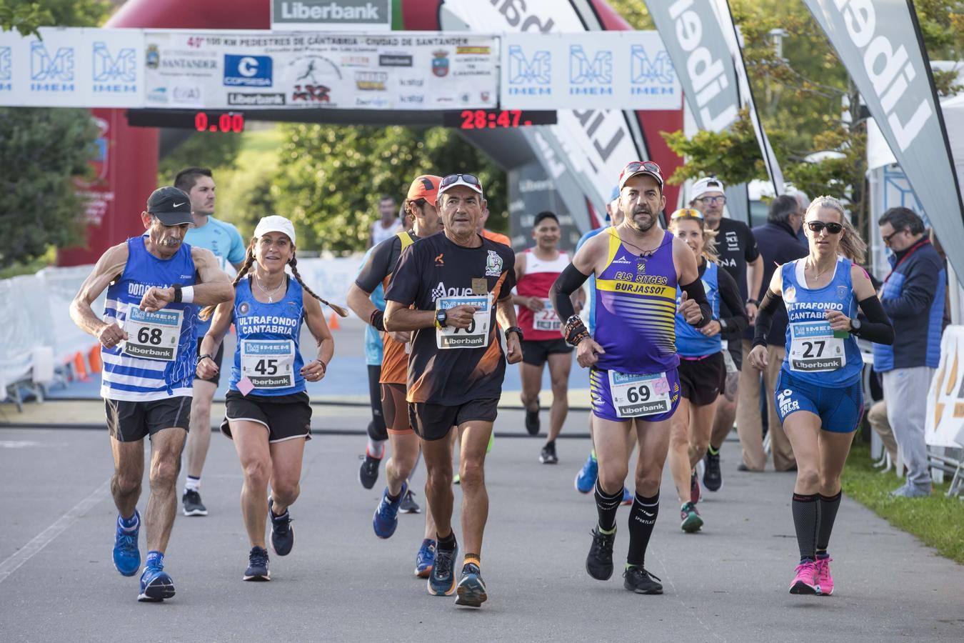 Javier Martin Santos gana la 40ª edición de los 100 Kilómetros Pedestres de Cantabria