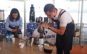 Javier Martín impone su ley en el Campeonato AeroPress de Cantabria