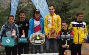 Maite Maiora y Diego Díaz, ganadores del Kilómetro Vertical de Fuente Dé