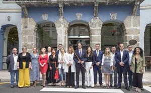 Soberón, elegido alcalde con los únicos votos de Cs, ofrece una «mano tendida» a los grupos