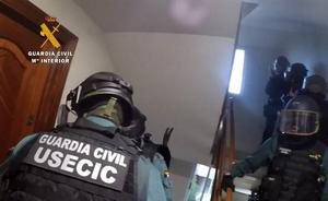 La Guardia Civil desarticula una organización dedicada al tráfico de droga con destino Cantabria, Francia e Italia