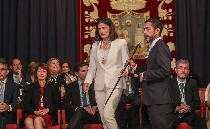 Gema Igual toma posesión como alcaldesa de Santander