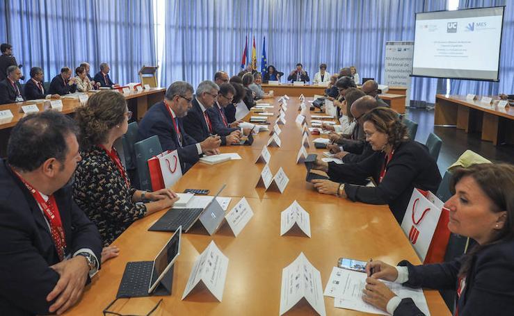 Santander acoge el 14º Encuentro Bilateral de Rectores Cubanos y Españoles