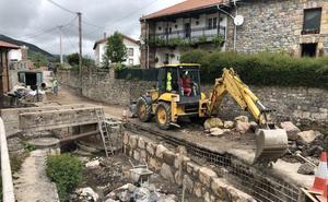 Santiurde de Reinosa acomete varias obras de mejora en el municipio