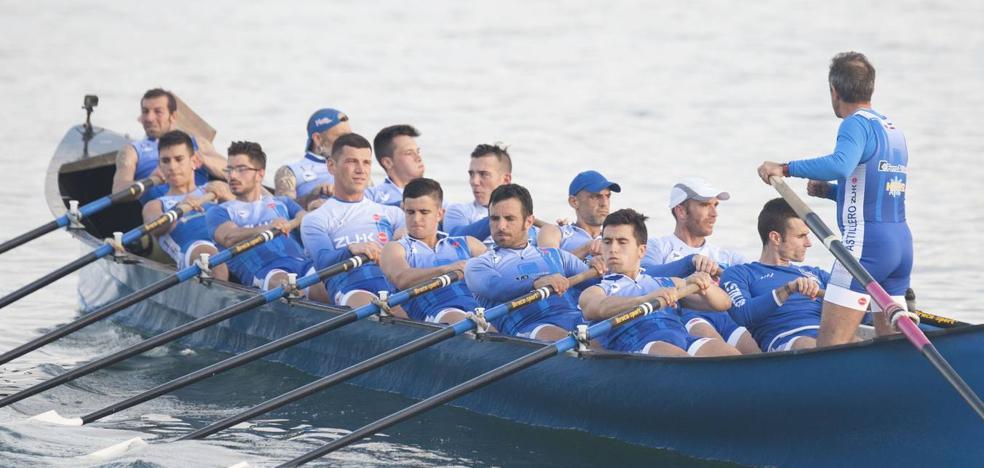 Astillero abre este sábado la regata inaugural de la Liga ACT, que se celebra en la ría de Bilbao