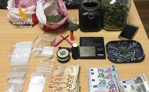 Detenido en Oriñón con 200 gramos de marihuana