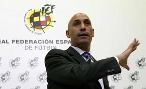 Sigue en directo la rueda de prensa de Luis Rubiales y José Franciso Molina