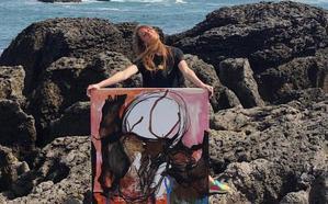 Sianoja mostrará la próxima semana las obras en la galería Espiral y viajará en octubre a Santander