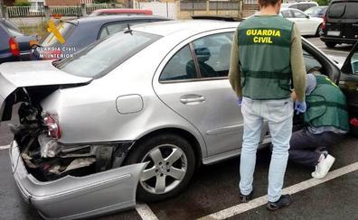 Tres guardias civiles heridos al evitar que un vehículo entrara en sentido contrario en la autovía a la altura de Los Corrales