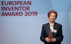 La científica española Margarita Salas, premio al inventor europeo del año