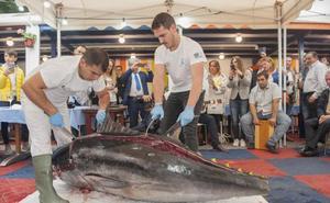 Jornadas del atún rojo de Almadraba en La Radio y La Prensa