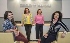 Tres emprendedoras cántabras apoyan a otras tantas mujeres en sus comienzos