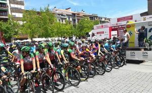 Dos victorias, cuatro podios y un maillot rojo para Cantabria