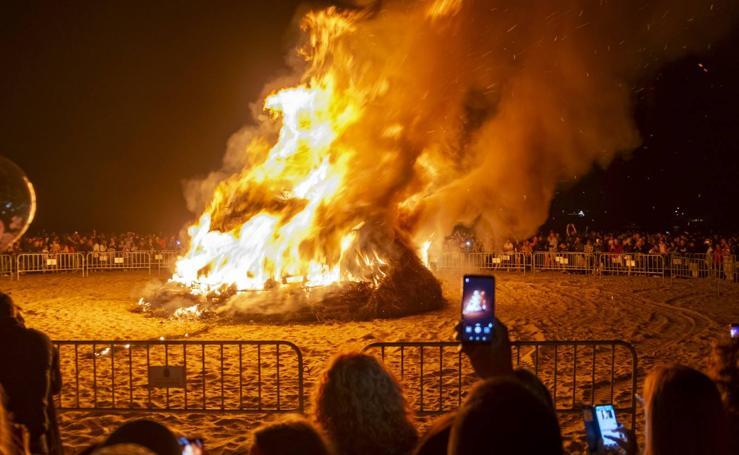 Culto al fuego en Cantabria