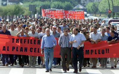 La plantilla de Trefilerías Quijano inicia mañana tres días de huelga