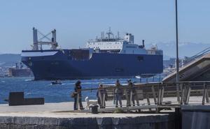 El Juzgado investiga si la carga de armas en el Puerto de Santander es segura