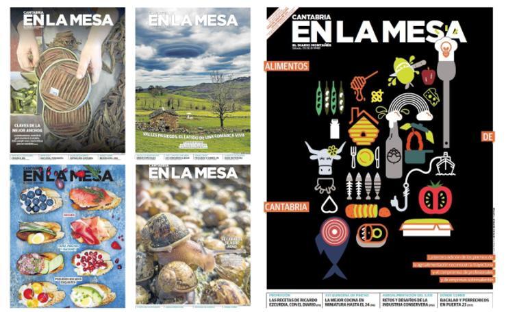 Cantabria en la Mesa, en portadas