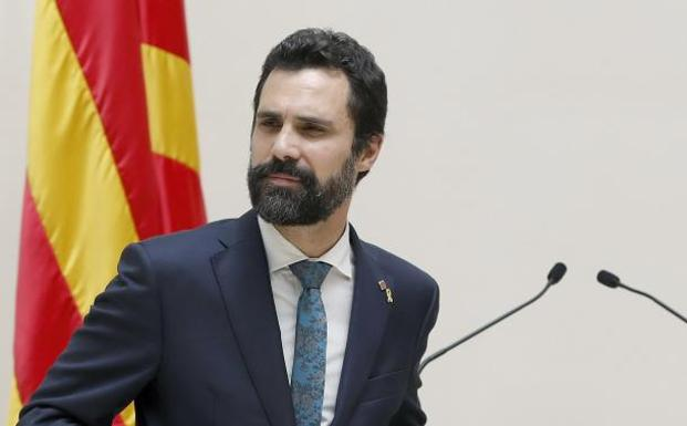 El presidente del Parlament de Cataluña, Roger Torrent. /Efe