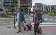 España se achicharra y en Santander, con cazadora
