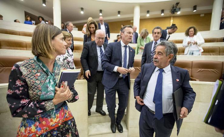 Primera jornada del debate de investidura de Miguel Ángel Revilla