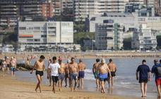 La ola de calor llega a partir de las dos de la tarde al sur de Cantabria