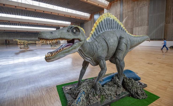 Expo Dino XXL ya está en Santander