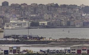 El Puerto ha gastado ya 4,59 millones en la fallida obra del Muelle 9 de Raos
