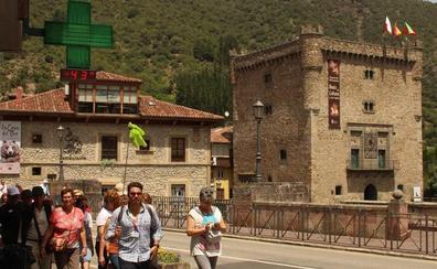 El sur de Cantabria llega a los 40 grados a las cuatro de la tarde