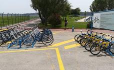 Comienza el préstamo gratuito de bicicletas en Punta Parayas