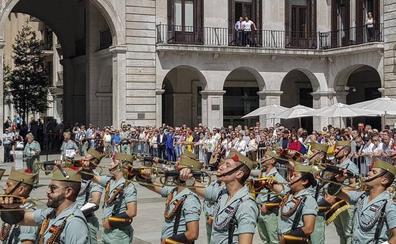 La Legión, en Santander