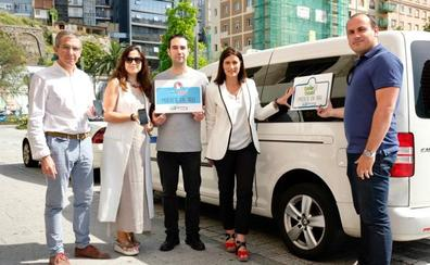 El Ayuntamiento de Santander colabora en una campaña de promoción del taxi