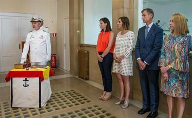 Carlos Bonaplata toma posesión como comandante naval de Santander
