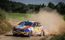 Llarena y Fernández salen ilesos tras sufrir un fuerte accidente en el Rally de Polonia