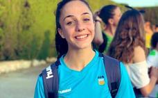 La velocista Lara Gómez, seleccionada para correr el relevo 4x100 en el Europeo sub23