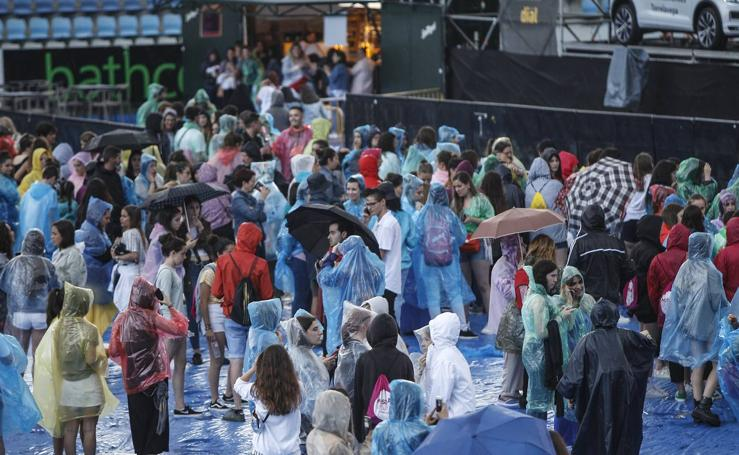 Suspendidos por la lluvia los conciertos de Música en Grande