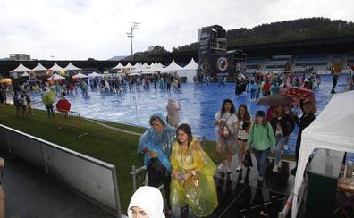 Suspendidos por la lluvia los conciertos de este jueves de Música en Grande