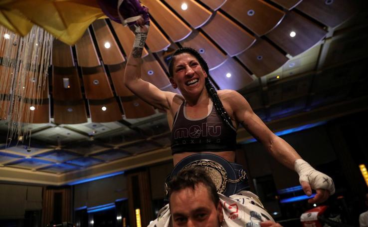 Las imágenes de Miriam Gutiérrez, 'La Reina' del boxeo