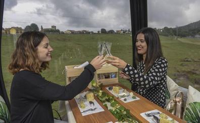 Cenas de lujo sobrevolando Cabárceno, buen plan desde el 5 de julio