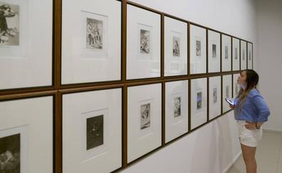 Las series completas de los 'Caprichos' y 'Desastres' de Goya se exponen juntos por primera vez en Cantabria
