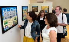 La visión naïf de Santander plasmada por artistas de cinco países