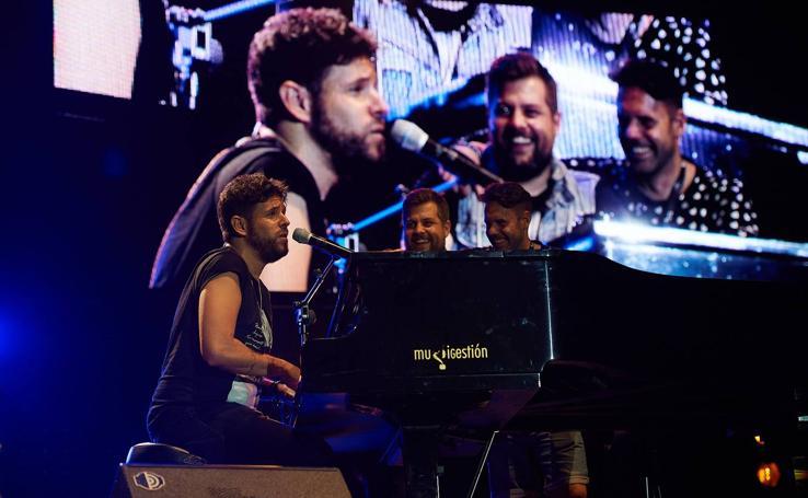 Pablo López conquista el Música en Grande