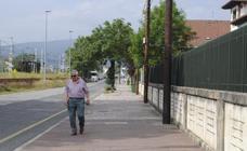 Reinosa finaliza la rehabilitación de la acera de la Avenida de Castilla