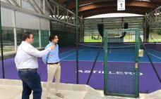 Acaban las obras en las pistas de tenis y se inician otras en el Frajanas