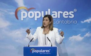 Sáenz de Buruaga: «Revilla está permitiendo que nos roben el agua»