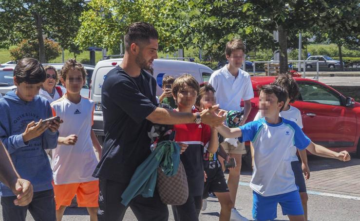 El Racing presenta a Luca Zidane