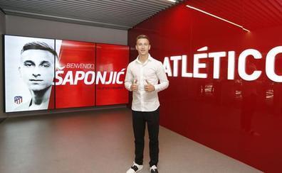Saponjic firma tres años con el Atlético