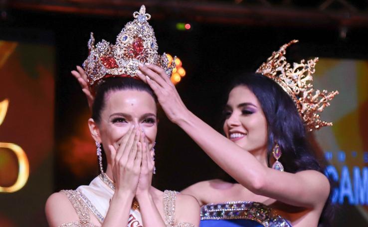 La santoñesa Ainara de Santamaría cumple el sueño de coronarse Miss Grand España