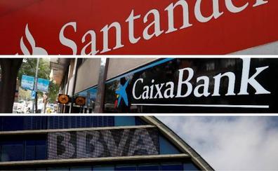 Santander, CaixaBank y BBVA, galardonados por Euromoney